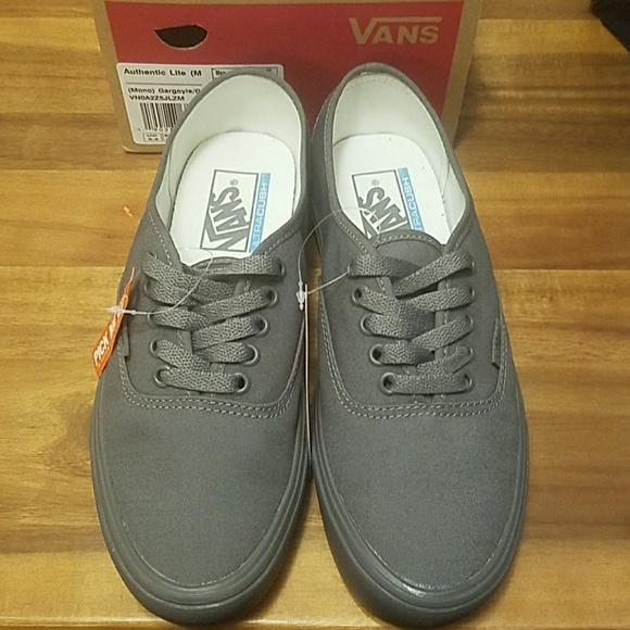 2ca33569de1 Vans authentic lite gargoyle grey men 6.5 womens 8